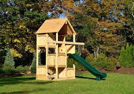 small playset swing sets for small spaces unbelievable set space saver outdoor home interior 9 wooden small playset