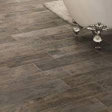 Concept Wood Tile Flooring Bathroom Look E In Beautiful Design