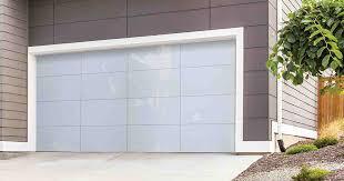 frameless glass garage doors 8450