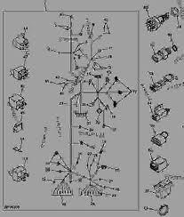 wiring harness european 8 拖拉机,紧凑公用john deere 4710 list of spare parts