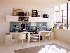 Dual desks home office Wrap Around Diy Home Projects Pinterest 19 Best Dual Desks Images Home Office Space Desk Desks