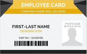 Business Id Template 10 Best Employee Id Card Formats For Ms Word Word Excel