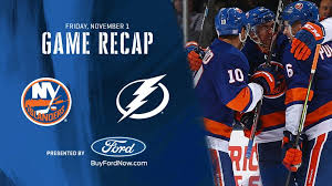 Islanders Depth Chart Notebook Isles Beat Lightning 5 2 Win Eighth Straight Game