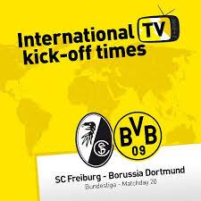 Neuzugang maximilian eggestein soll im heimspiel gegen borussia dortmund gleich im kader stehen. Wo Kann Ich Sc Freiburg Gegen Borussia Dortmund Sehen Schwatzgelb De Forum