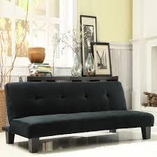 Inspire Q Bento Mini Futon Sofa Bed (Black Microfiber Suede), Size Full