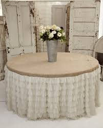 21 photos gallery of the best of burlap tablecloth ideas