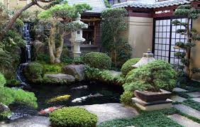 Lawn & Garden:Most Beautiful Japanese Garden Design With Country Arch Garden  Bridge Ideas Stunning