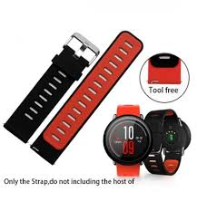 <b>Replacement Silicone</b> Watch Bands Bracelet Strap for Huami ...