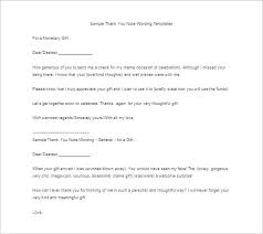 Examples Of Thank You Emails 11 Thank You Letter For Gift Doc Pdf Free Premium Templates