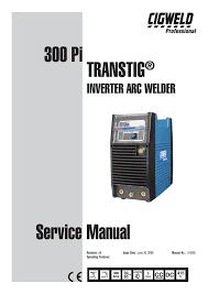 Cigweld 300pi Service Manual Manualzz Com