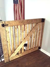 beautiful door baby gates child gate with pet door barn door baby gate with pet door