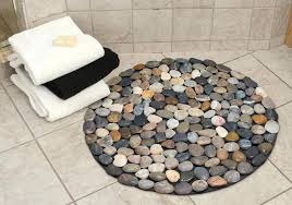 large round bath rugs diffe colored pebbles round bath rug large bath rugs mats