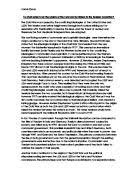 essay plan origins of the cold war in what ways and for what to what extent can the origins of the cold war be linked to the
