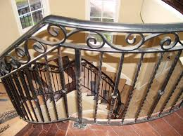 ... Epic Picture Of Staircase Decoration With Iron Hand Railing : Marvelous  Picture Of Interior Stair Design ...