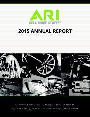 Ari Network Services Ari Network Services Annualreports Com