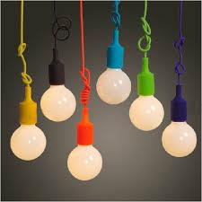 Colorful Pendant Lamp Modern Vintage Edison Bulb Bar Restaurant Cafe  Bedroom E27 Art DIY Pendant Light Hanging Ceiling Lamp-in Pendant Lights  from Lights ...