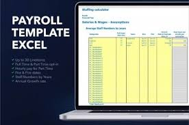Hourly Payroll Calculator Free Free Payroll Template Excel