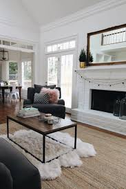 White Furniture For Living Room Our Family Room Mesas Fireplaces And Furniture