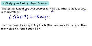 Adding Subtracting Multiplying And Dividing Integers Worksheet ...