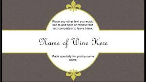 Free Printable Wine Labels 6 Free Printable Wine Labels You Can Customize Lovetoknow