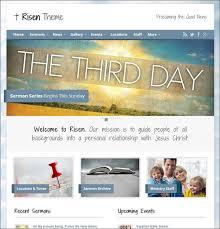 Free Church Website Templates Extraordinary 28 Inspiring Church Website Templates