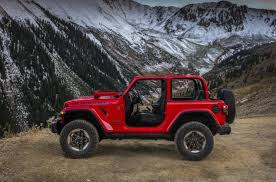 2018 jeep wrangler 4 door.  door the same utilitarian theme carries over from the original willys jeep  decades ago with protruding front wheel  on 2018 jeep wrangler 4 door s