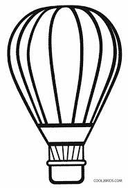 Printable Hot Air Balloon Coloring Pages
