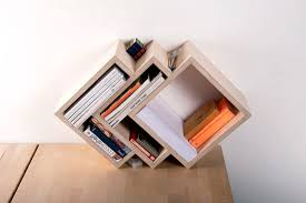 interesting furniture design. A Small Bookshelf With Different And Interesting Design Having Capacity To Hold Stationery Items As Well. Furniture