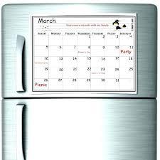 framed magnetic dry erase calendar wall