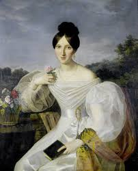 shawls and wraps in 19th century art literature and fashion a lady in a white dress and shawl before a viennese landscape by ferdinand georg waldmüller