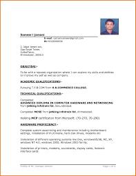 Free Blank Resume Resume Templates In Microsoft Word Fresh Free Blank Resume 47