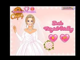 barbie wedding dressup and makeover games play free