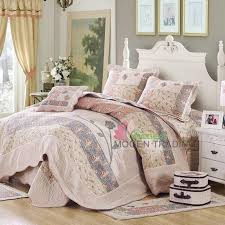 großhandel chausub korea patchwork quilt set 4 stÜck bettdecke handgemachte bettdecke blätter stepp bettwäsche set bettbezug könig bettwäsche decke von