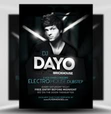 club flyer templates dj flyer templates for photoshop flyerheroes