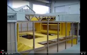 maquette mobile au 1 33e réalisation atelier pras conception scientifique et suivi sylvain le stum architecte pour la cité de l architecture et du