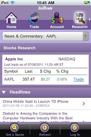 Scottrade Stock Quotes Scottrade Quotes And Research Unique Transferring Your Account To 86