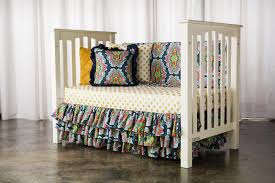 image of bohemian crib sheets