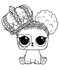 Lol surprise doll coloring pages are black and white images of cute toy dolls hidden in a ball, which quickly became popular among girls around the world. The Best Printable Lol Coloring Pages 101 Coloring
