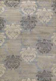 concord global trading lumina 9586 damask grey area rug
