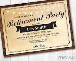 part invites 48 best retirement party invites images on pinterest invites