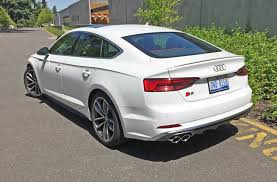 2018 audi a5 4 door. exellent audi car designers call the sportback a coupe we it sedan with  functional hatchback photo arv voss on 2018 audi a5 4 door