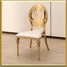 modern steel furniture. Modern Restaurant Metal Furniture Golden Finish Stainless Steel Event Party Banquet Dining Chair