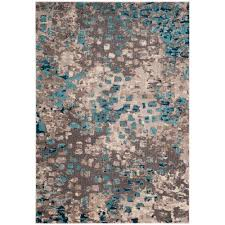 safavieh monaco gray light blue 5 ft x 8 ft area rug