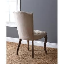 abbyson french vine velvet tufted dining chair on today overstock 12405607