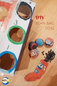 diy bean bag toss