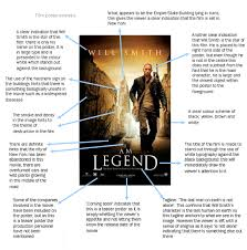 film poster analysis i am legend by natalie aknproductions s blog images
