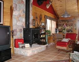Interior Country Style Interior Design Ideas With Corner Bar - Country house interior design ideas