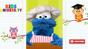 sesame street alphabet kitchen making 3 letter words with cookie monster kids university
