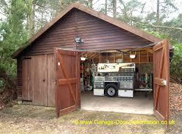 swing open garage doors g shed shed garage door opener build swing open garage doors