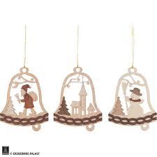 Christbaumschmuck Glocke Mit Weihnachtsmotiven 6er Set 7